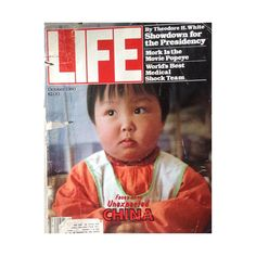 Life Magazine 1980 October Issue Faces of China Cover/Vintage Epherma /Collage/Collectors/Vintage Ads/Decoupage/5 Dollar Canada Shipping