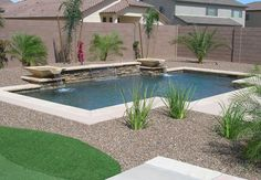 Having a pool sounds awesome especially if you are working with the best backyard pool landscaping ideas there is. How you design a proper backyard with a pool matters. Swimming Pool Pictures, Small Swimming Pools, Small Backyard Pools, Backyard Pool Landscaping, Backyard Water Feature, Backyard Pool Designs, Small Pools, Landscaping Ideas, Backyard Ideas