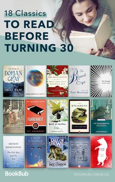 18 Classics to Read in One Sitting This list of books to read for women before turning 30 is a great bucket list. These novels will inspire you and teach you great lessons about life. You will also be the most well-read lady in the room! Books To Read For Women, Books For Teens, Best Books To Read, I Love Books, Good Books, My Books, Books To Read In Your 20s, Best Books Of All Time, Books To Read Before You Die