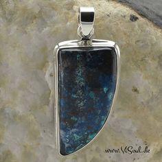 Azurit - Liebe und Bewusstsein stärken - Geschenke für Dein Leben - http://www.ViSoul.de