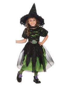 Forum Novelties Mysteria the Witch Child Costume, Toddler