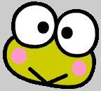 Felicitaciones de Kero Kero. Postales de Dibujos Animados. Postales de Keroppi. Envía felicitaciones con Keroppi gratis desde internet. Tarjetas Postales de Keroppi animadas.