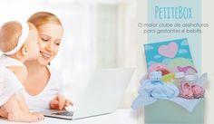 Você já conhece a PetiteBox? Somos um Clube de Assinaturas para Gestantes e Bebês e todos os meses chegamos na casa de muitas mamães levando uma caixa linda e recheada de produtos para conhecer testar e amar. Faça parte da nossa família e comece a testar os produtos do mundo da maternidade você também. http://ift.tt/2yfCMvG do mundo materno!