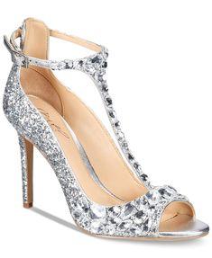 b0aebecf17e7 Jewel Badgley Mischka Conroy T-Strap Evening Sandals