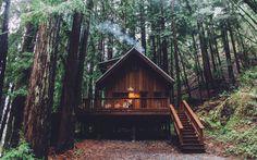 Coastal Redwoods Farmhouse property with Cabin, Davenport, CA