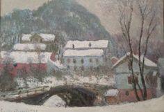 """Snow Series"" - Claud Monet - Nasjonalgalleriet - Oslo"
