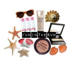 Fun in the Sun, created by gerasilly on Polyvore