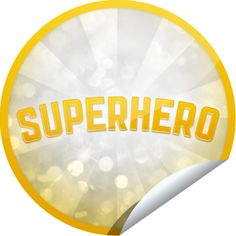 ORIGINALS BY ITALIA's Superhero Gold Sticker | GetGlue
