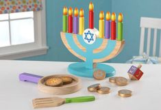 Baby's First Menorah - Hanukkah Play Set