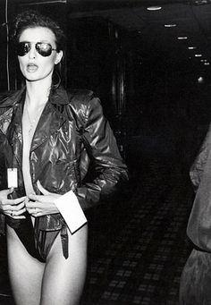 Appolonia backstage at Bill Kaiserman, ca. 1979.