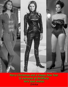 Emma Peel from the Avengers..she was so cool