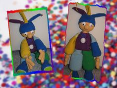 "Passend zum Karneval ""Clowni"" Größe: 44cm Anleitung: Babsies Hook (CAL-Fasching) Wolle: Cotton Fun, NS 3"