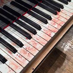 Bloody piano keys: 'It doesn't hurt, actually,' Rui Urayama says - Story Music Aesthetic, Character Aesthetic, Gore Aesthetic, Demonology, Piano Keys, Danganronpa V3, Hopeless Romantic, Cringe, Drums