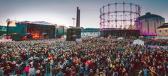 This Music Festival At An Abandoned Helsinki Power Plant Looks Amazing & You Should Go