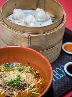 Zhong Guo La Mian Xiao Long Bao And Sechuan Spicy Noodles