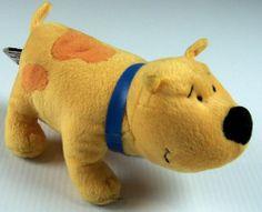 T Bone Yellow Bulldog Plush Clifford The Big Red Dog's Friend Scholastic 2001 #Tboneclifford