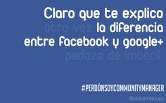 WALLPAPER de COMMUNITY MANAGER: diferencia entre facebook y Google+ … (corregido)