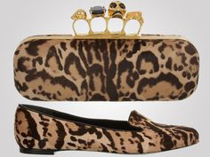 Alexander McQueen doles out designer luxury with leopard pony accessories