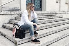 look casual bianco Dressing and Toppings bousa@miawish
