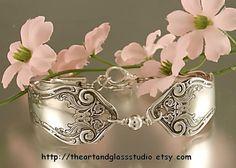 Silver Spoon Bracelet Alhambra by Rogers & by theartandglassstudio, $31.00 love it