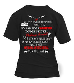 Phlebotomy halloween gifts and vampires on pinterest for Single order custom t shirts