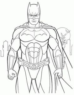 dibujos para colorear y pintar de super heroes - MySearch
