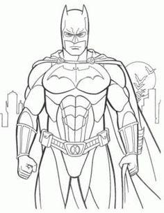 dibujos para colorear y pintar de super heroes - MySearch