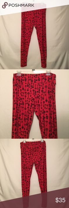 NWT LuLaRoe TC Leggings LuLaRoe TC church key Leggings ... LuLaRoe Pants Leggings