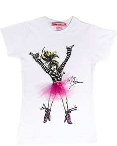 betsey johnson kid's tshirt... comes in adult sizes??   too cute for words!