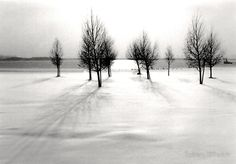 winter landscape Greeting Cards & Postcards, buy any 8 and get 20% off.