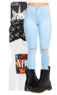 """2.22.2016"" by daltonsprincess ❤ liked on Polyvore featuring Dr. Martens"