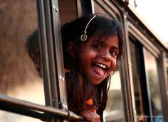 Indian girl..... happy smile...