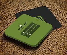 50 Ideas Square Business Cars Design Galleries For 2019 Square Business Cards, Business Card Psd, Cool Business Cards, Custom Business Cards, Business Card Design, Creative Business, Online Cards, Name Card Design, Design Cars