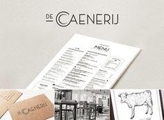 #ontwerp #huisstijl #restaurant #logo #design #decaenerij #menu #illustratie