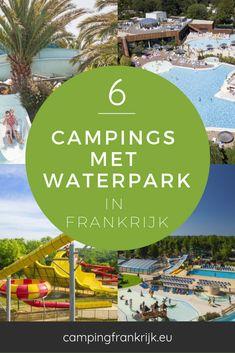 Vinden jij en je kinderen een camping met een zwemparadijs in Frankrijk geweldig? Heerlijk tot rust komen in het zwembad, lekker van de waterglijbanen roetsjen en een vakantie beleven die je nooit meer vergeet. Bekijk dan deze 6 campings met een zwemparadijs. Jacuzzi, Resorts, Camper, Holiday, Kids, Travel, Brittany, Miniature Golf, Young Children
