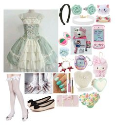 """Erris Roseguard(8) a cute play date with Ciel"" by sasukeuchiha2498 ❤ liked on Polyvore featuring art"
