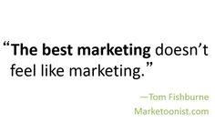 The best marketing