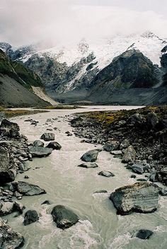 Hooker Valley, Aoraki Mt Cook, New Zealand