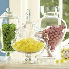 """Candy Table Decoration Apothecary Jar 13"""""""