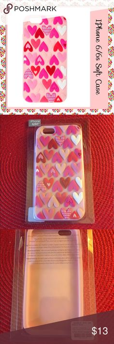 🎼 Flamin' Hearts 🎼 Bin:  G5 Condition:  BNWT  Style:  silicone Features:  show your love with this baby pink silicone phone case, decorated with a variety of different pattern love hearts in a mixture of different shades of pink and red Material:  soft silicone  ✔️I reserve the right to refuse services for any reason. Accessories Phone Cases