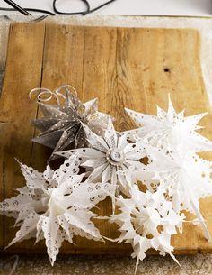 Der zweite Advent ist vorbei und die Vorweihnachtszeit kann beginnen. Überall wird fleißig geschmückt und ist mit zahlreichen Lichtern, Kugeln und Zweigen versehen. Fehlen also nur noch die passenden Faltsterne um die Deko zu vollenden.