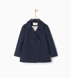 Image 2 of Jacquard coat from Zara