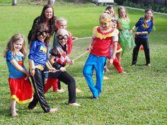 DC Super Hero Girls Party - Paging Fun Mums Superhero Party Decorations, Girl Superhero Party, Batman Party, Party Themes, Party Ideas, Super Hero High, Dc Super Hero Girls, Super Hero Games, Batgirl