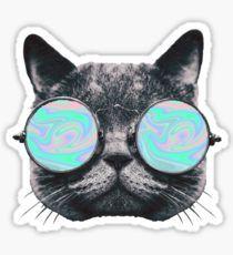 Cat Eye Hologram Pegatina