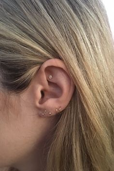 Constellations Ear Piercing Star Jewelry Trend