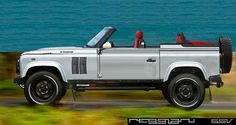 LAND ROVER DEFENDER 110 ROADSTER - CUSTOM MADE by Supercars Reggianissv  IT IS TERRIBLE, BUT IS A LAND ROVER YET!
