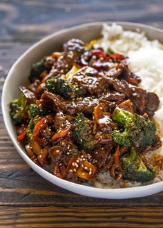 Salmon Recipes, Asian Recipes, Chinese Beef Recipes, Easy Beef And Broccoli, Garlic Broccoli, Mushroom Broccoli, Beef Broccoli Stir Fry, Beef Stir Fry Sauce, Asian Beef Stir Fry