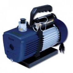 #Bacharach 2002-0001 1.7 CFM High performance AC Vacuum Pump for quick  evacuation of refrigeration systems.