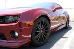 2010 2SS/RS #Chvevy Camaro #Red Jewel #Hotchkis Wheels