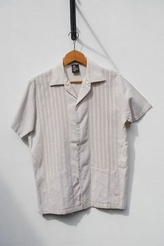 70's Guayabera aertex cotton shirt if you're going somewhere hot | eBay